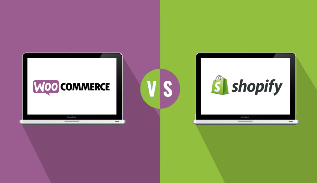 woo commerce and shopify